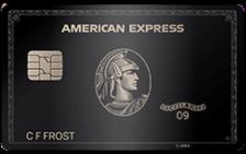 centurion black business card