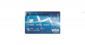 commerce miles visa signature