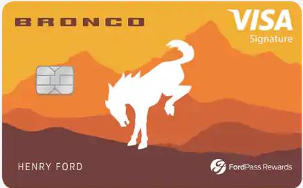 fordpass rewards visa alternate card art