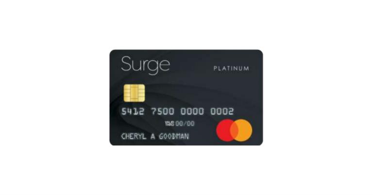 surge secured credit card