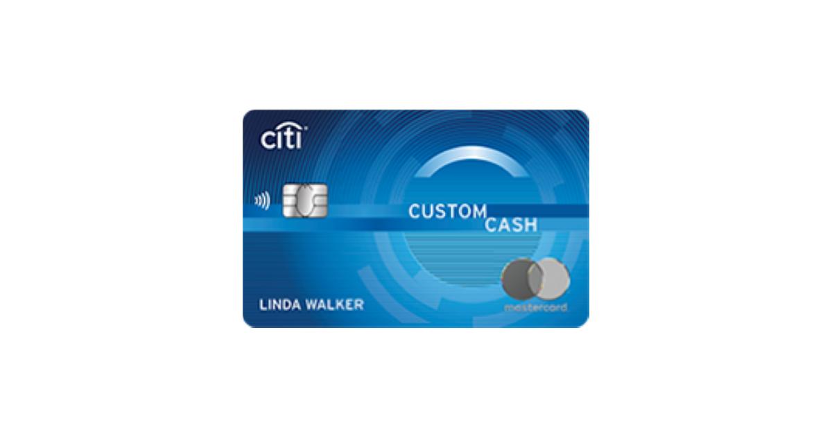 Citi Custom Cash Card - Earn Up to 5% Back - BestCards.com