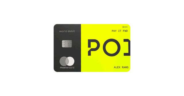 point card rewards debit card