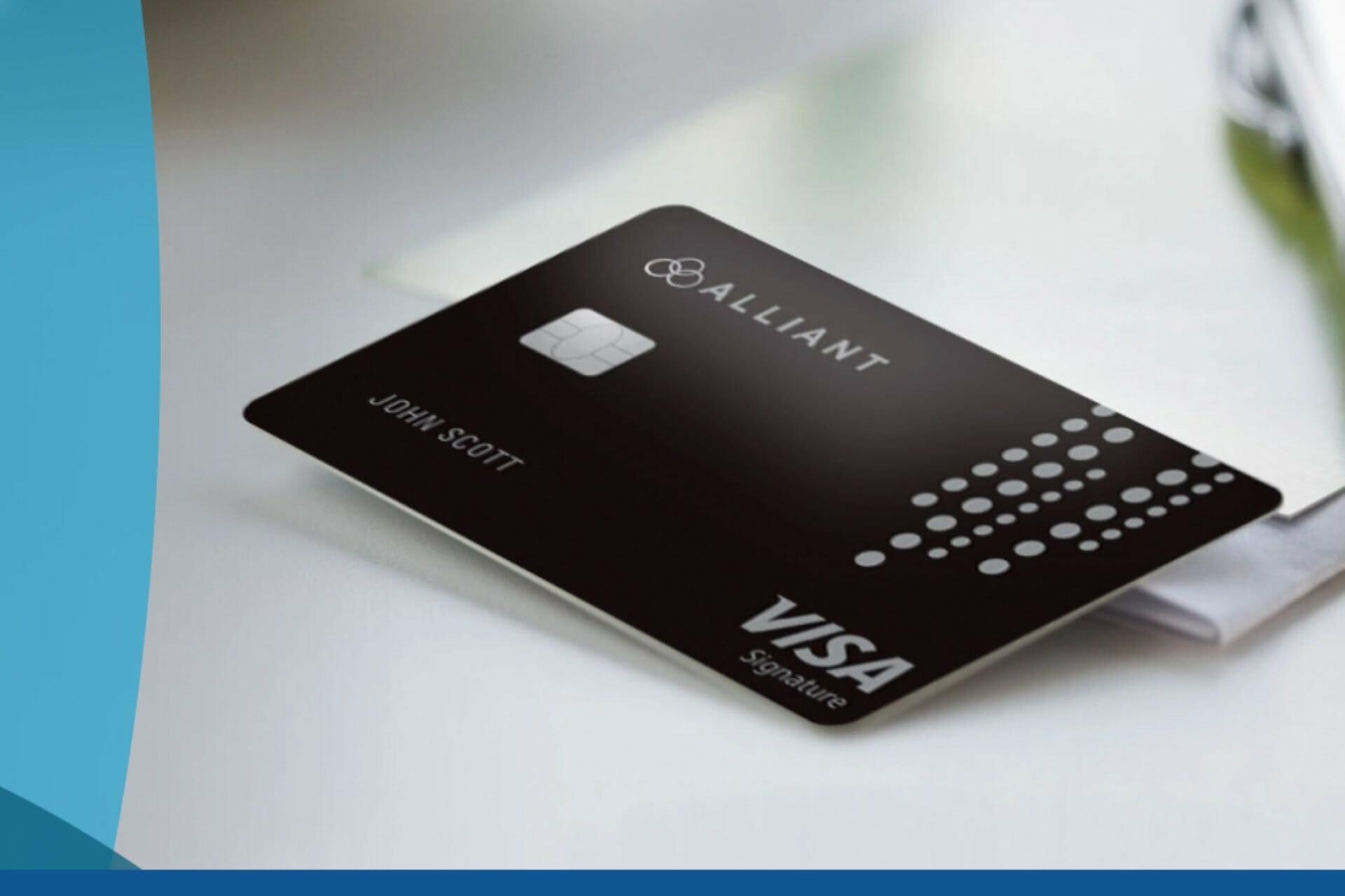 alliant makes changes to 2.5% cash back visa signature credit card
