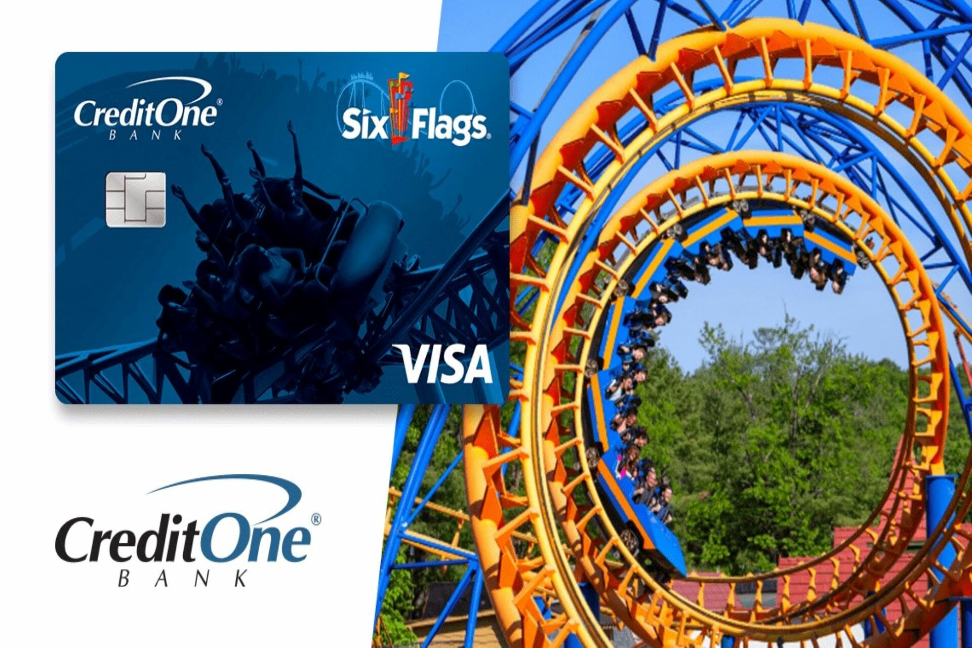 credit one bank six flags credit card