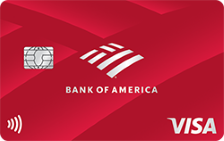 bank of America customized cash secured
