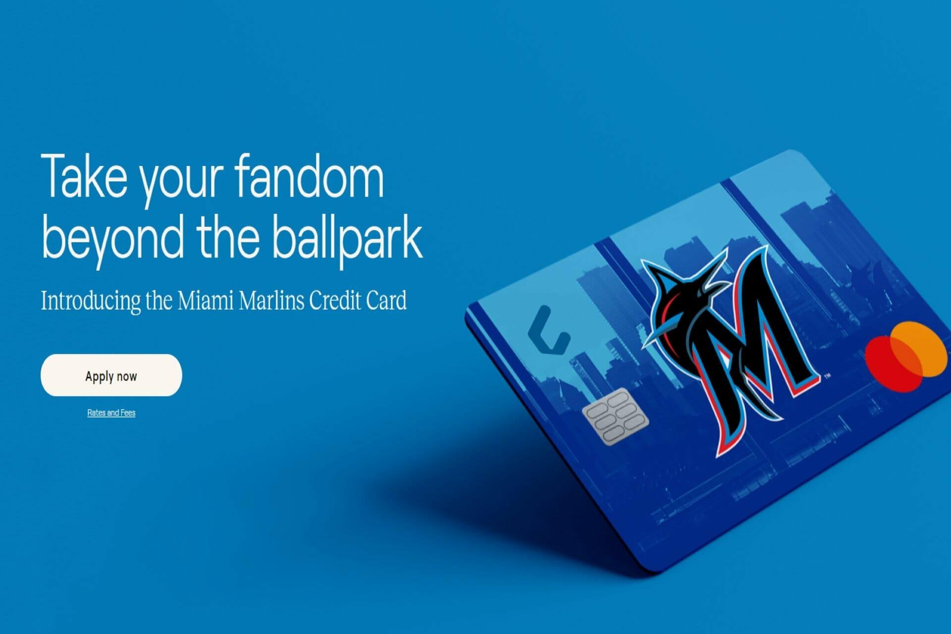 Cardless new Miami marlins