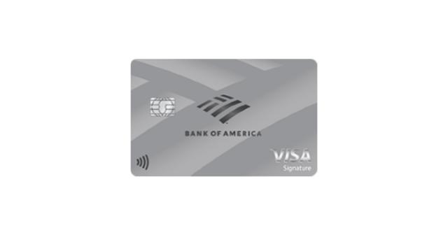 Bank of America® Unlimited Cash Rewards credit card visa signature