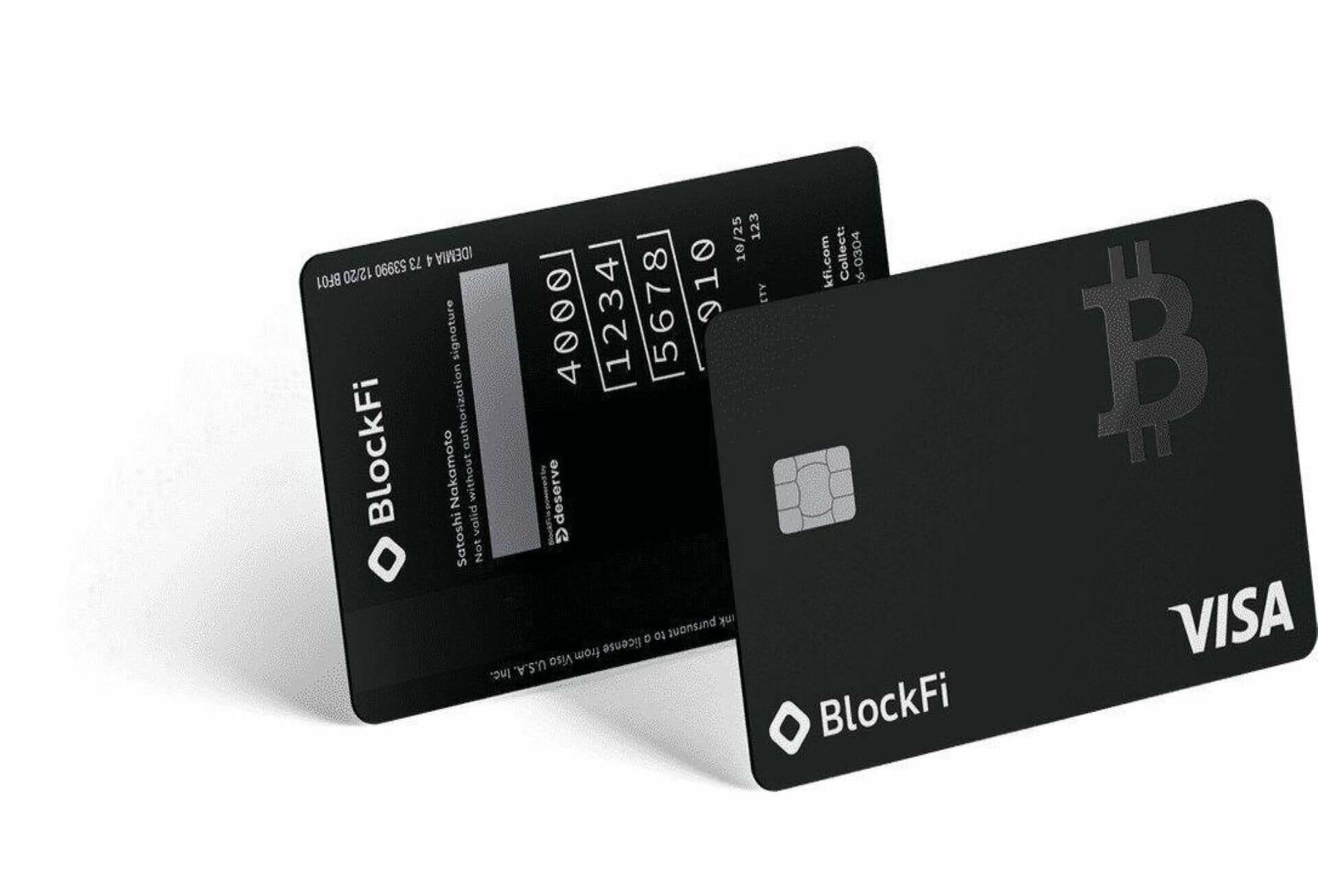 blockfi bitcoin credit card now live
