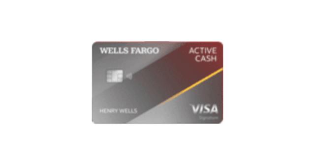 wf active cash visa credit card