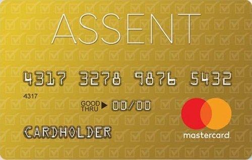 assent platinum secured card