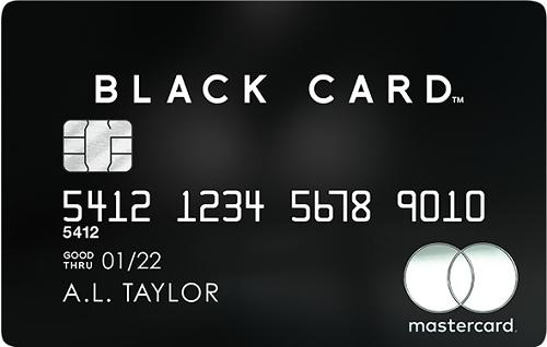 mastercard black card credit card