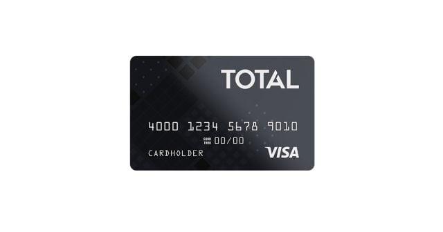 total visa unsecured credit card