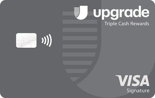 upgrade triple cash rewards visa