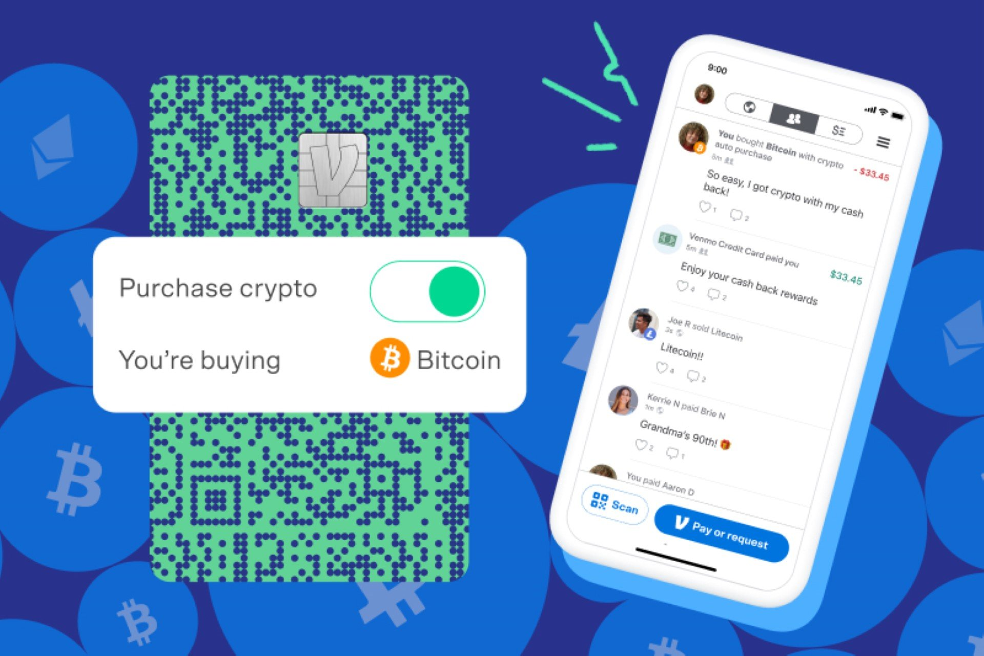 venmo visa cryptocurrency bitcoin