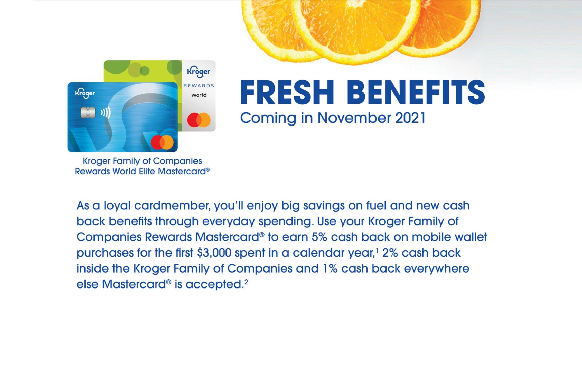 changes coming to kroger rewards mastercard