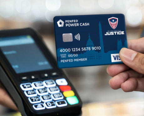 Washington Justice x PenFed Power Cash Rewards Visa Signature®