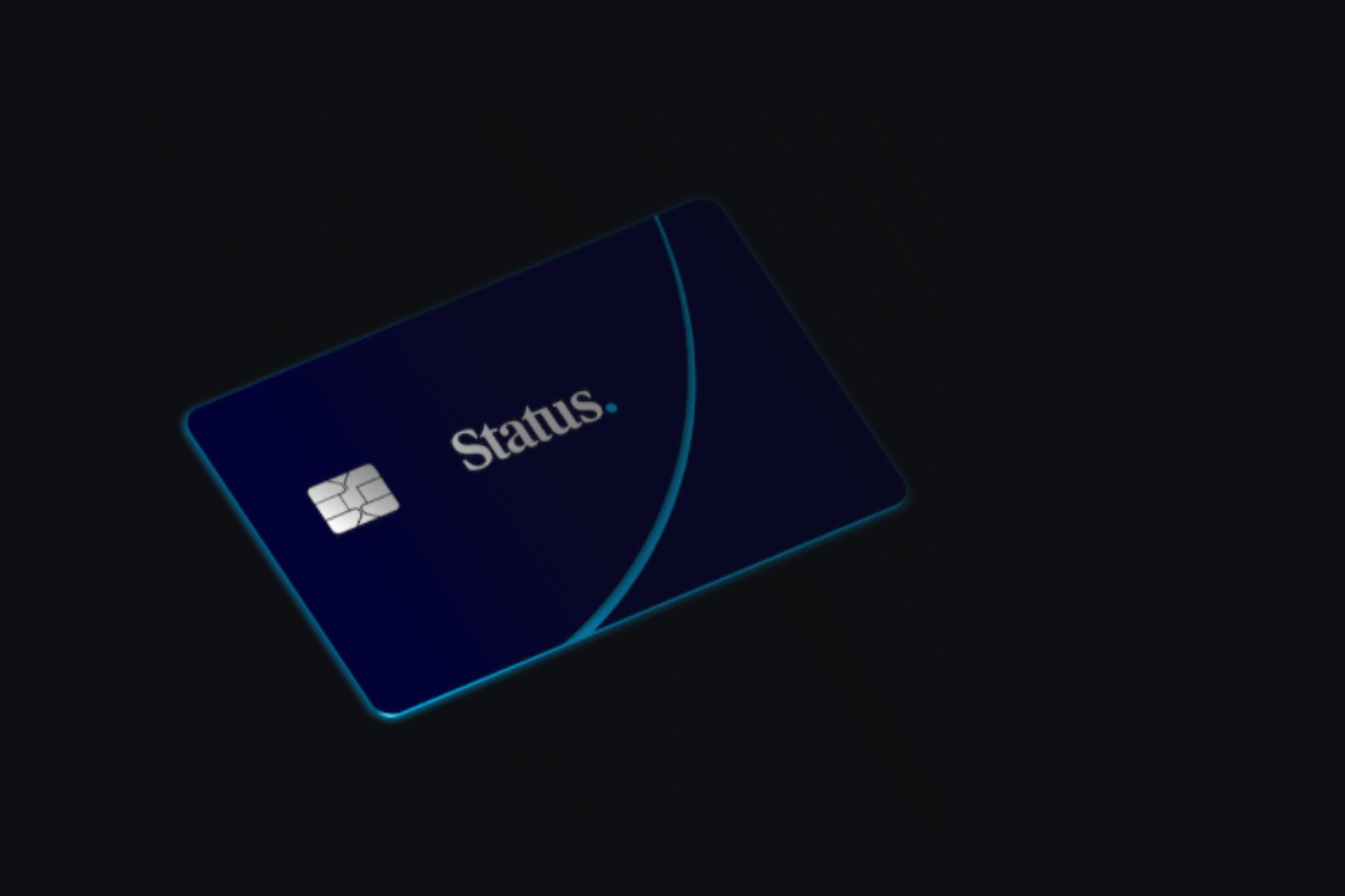 status crypto credit card