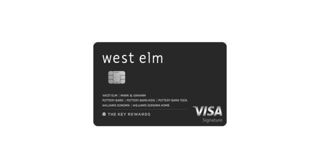 west elm key rewards visa signature capital one
